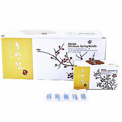 Dong Bang Disposable Acupuncture Chinese Medical BLISTER PACKAGE Needles 1000pcs