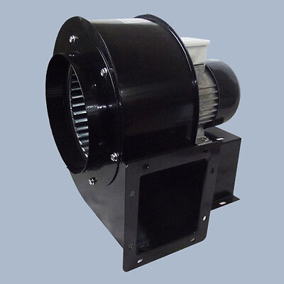 Centrifugal industrial duct extractor fan, blower, 1375 RPM, 1450 m3/h; 230V