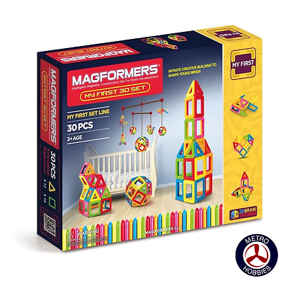 Magformers My First 30 Set 702001 Brand New