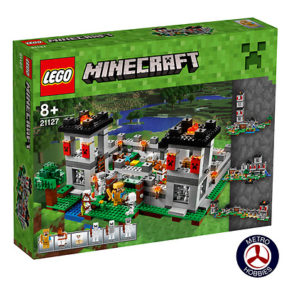 Lego 21127 Minecraft The Fortress - Brand New Sealed Box