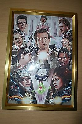 GHOSTBUSTERS (30th anniversary) FRAMED PRINT