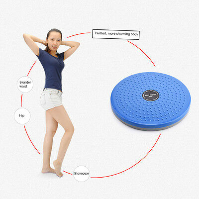 Twist Waist Torsion Massage Aerobic Foot Fitness Exercise Twister Plate Pad new
