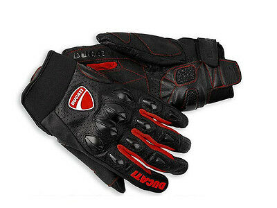 Motorcycle Leather Gloves Protective DUCATI Gear Performance Bike Racing Glove