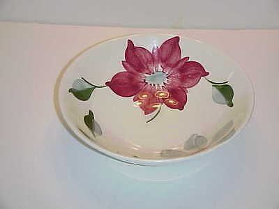 Blue Ridge Southern Pottery China Poinsettia Pattern Round Vegetable Bowl