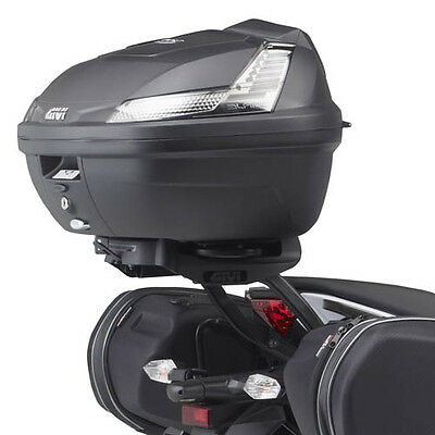 Givi B47 Tech Blade Monolock Top Box / Luggage Case With Universal Plate ! New !