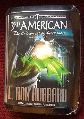 L Ron Hubbard Scientology  3rd American  Volume Four New