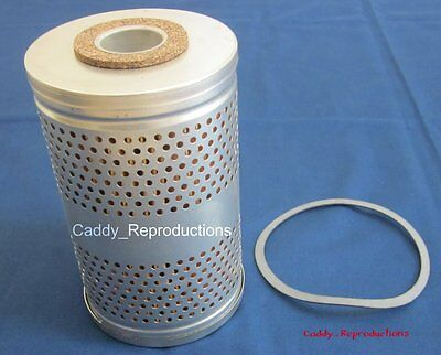 1957 - 1958 Brougham Cadillac Orig Style Canister Oil Filter Metal