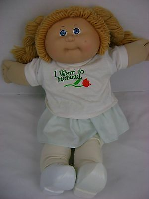 1978 Vintage Cabbage Patch Kid World Traveller Holland Doll Clothes Accessories