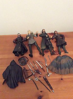 Lord Of The Rings Marvel Figures And Weapons Accessories Bundle