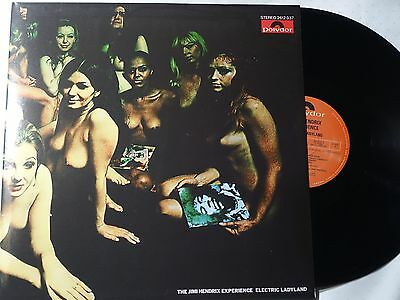JIMI HENDRIX - 2 x LP Vinyl Electric Ladyland  - GATEFOLD - NUDE COVER - NEW
