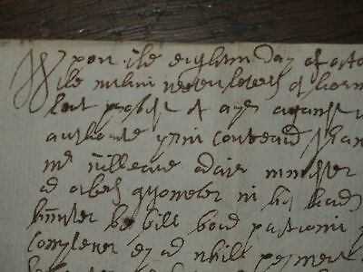 1702 Legal Letter  Document Edinburgh Thomas Moston Ayr Scotland