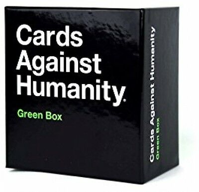 Cards Against Humanity: Green Box Expansion Edition - 300 Brand New Game Cards
