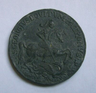 Saint George and the Dragon Medal / Medaille