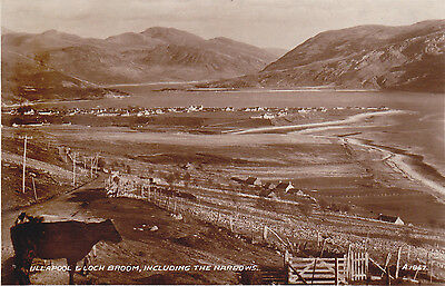 Ullapool. Ross & Cromarty B&w Postcard
