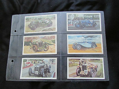 John Player Grandee Famous M.G. Marques 1981. A Full Set Of 28 Cigarette Cards