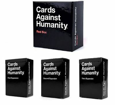 Cards Against Humanity: Red Box Expansion Contains First Second Third Expansions