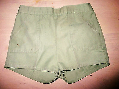 Boys Bhs  Vintage Pale Green   Shorts   Age 6-7   Years