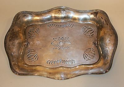 Frank M. Whiting J.E. Caldwell Philadelphia Sterling Silver Asparagus Tray Liner