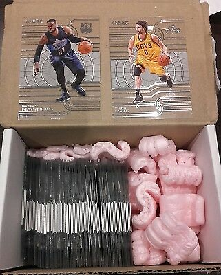 Complet set 2015-2016 PANINI Clear Vision nba set regular 81 cards