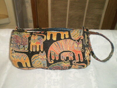 Laurel Burch Purse With Cats