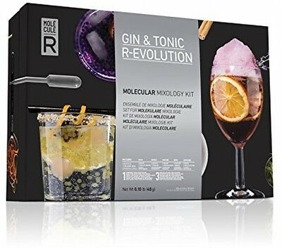 Gin and Tonic R Evolution Molecular Gastronomy Kit Mixology Gifts Set Two In One