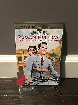 Roman Holiday DVD 1953 Audrey Hepburn, Gregory Peck