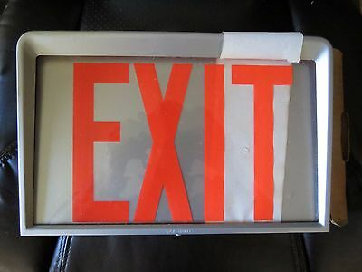 Day-Brite Exit Sign 1-5016 New Old Stock Single Side
