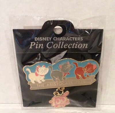 Disney Japan100 Years of Magic The Aristocats Marie Berlioz Toulouse LE NOC Pin