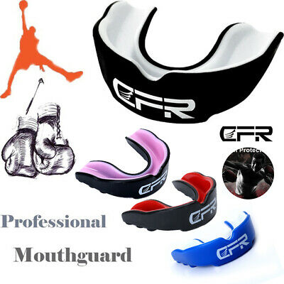 CFR Air Gel Gum Shield Mouth Guard Teeth Protector Boxing MMA Rugby Adult Junior