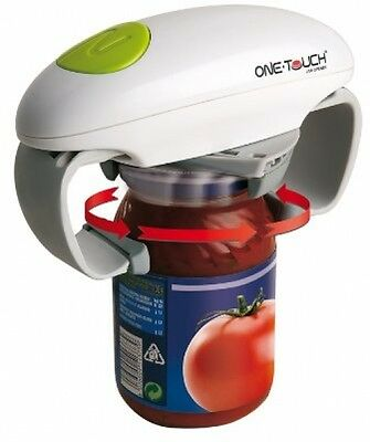 One Touch Electric Automatic Hands Free Can Tin Jar Opener Kitchen Tools