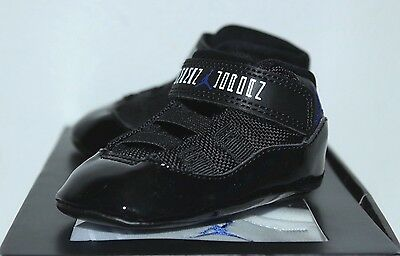 c96d2b43b55f81 Air Jordan Retro 11 XI Space Jam 23 Blue Sneakers Toddler s GP Size 1C 2C 3C