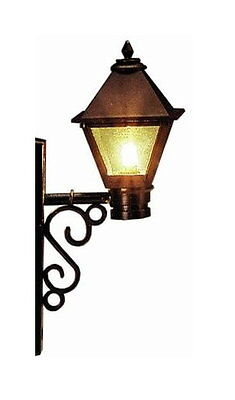 3 Street lights with Wall mounts Lamps Lights G Scale Model power 995