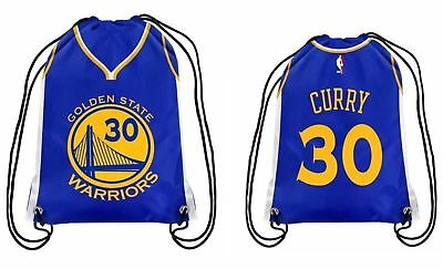 best website cbb0c 843bf STEPHEN CURRY JERSEY # 30 NBA Golden State Warriors 2 Sided Drawstring  Backpack