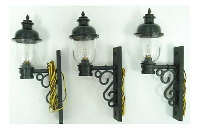 3 Round Wall Lanterns Lamps Lights Lanterns G Scale Model Power 999
