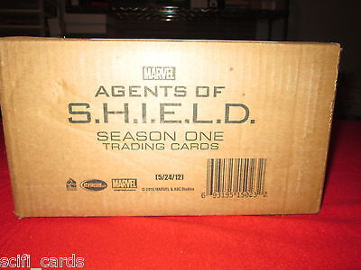 Agents of SHIELD Season 1 Sealed Case of Trading Cards Rittenhouse Autographs ++