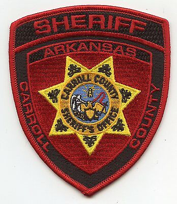 Carroll County Arkansas Ar Sheriff Police Patch