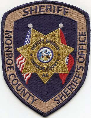 Monroe County Arkansas Ar Sheriff Police Patch