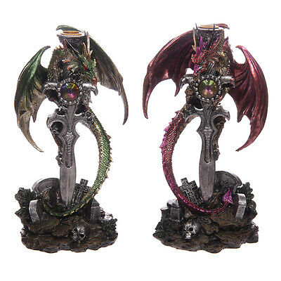 Slayer Dragon Sword Figurine Large Ornament Statue Sculpture Home Decor Dragons