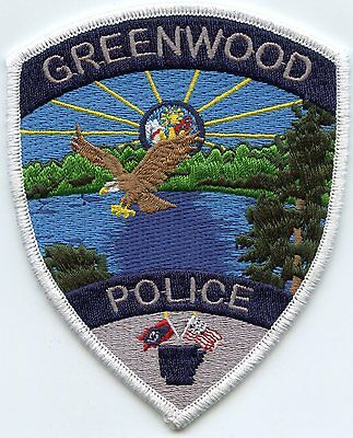 Greenwood Arkansas Ar Police Patch