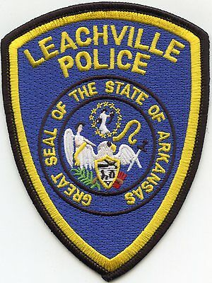 Leachville Arkansas Ar Police Patch