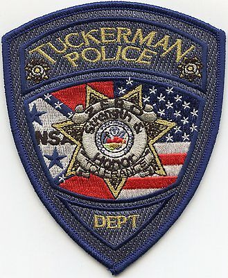 Tuckerman Arkansas Ar Police Patch