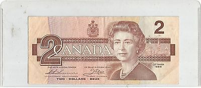 "1986 Two Dollar Replacement Note From Canada NICE "" BBX """