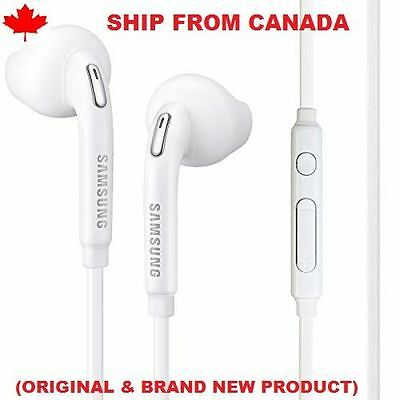 Samsung Eo-Eg920Bw Stereo Headset Headphones For Galaxy S5 S6 Note 5
