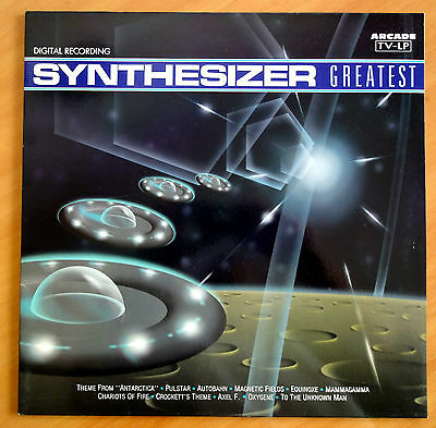 Vinyl  LP. Synthesizer Greatest   (Arcade 1990). Including Theme from Anctartica