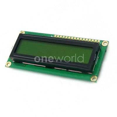 LCD1602 LCD TN/STN Module 3.3V High Definition Yellow Backlight Character