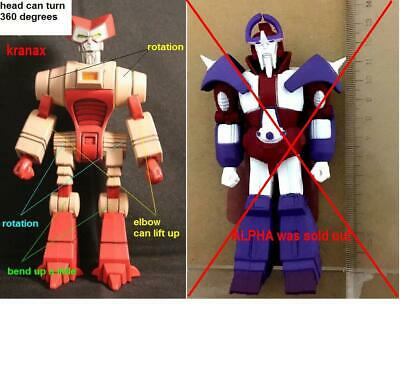 loosed 3rd party impossible toy Alpha Trion figure only (discontinued)