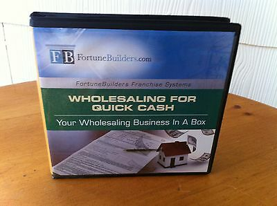 Wholesaling For Quick Cash Real Estate Course By Than Merrill - 11 CD PACKAGE!