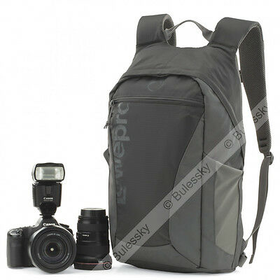 Lowepro Photo Hatchback 22L AW DSLR Camera Photo Bag Backpack (Slate Grey)