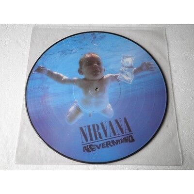 "NIRVANA - Nevermind - LP Vinyl 12"" - PICTURE DISC - NEW."