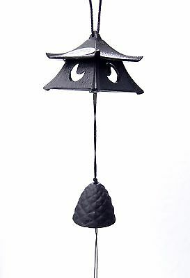 風鈴 FURIN METAL - Cloche à vent - Petit Temple - Made in Japan